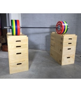 LMX1299 Crossmaxx® wooden jerk block set