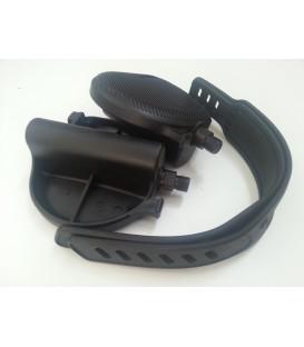 FS207 Pedali Cardio 1/2'' con laccetti