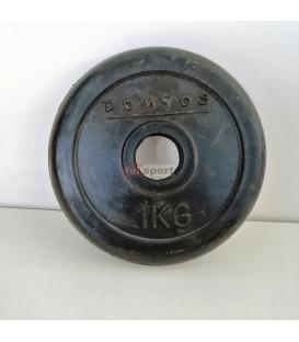 FS268 Disco gomma 1kg domyos