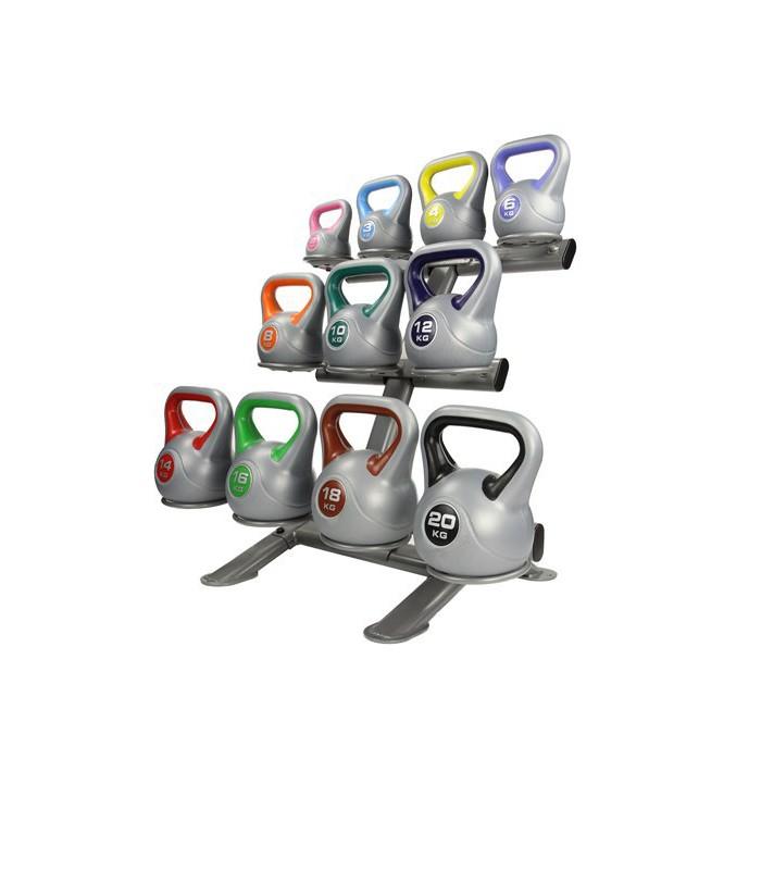 Lmx1147 porta kettlebell per aerobica full sport for Porta kettlebell