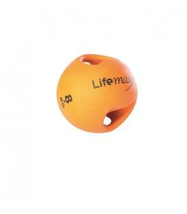 LMX1250.8 ARANCIONE 8kg - PALLA MEDICA CON MANIGLIE