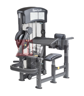 DF-105 BICEP / TRICEP - ISOTONICO SPORTSART