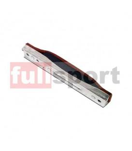 740-6872 Pattino Cuoio Freno con Basetta Alluminio