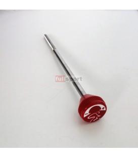 727-0054 Asta con Pomolo Freno Rosso 28cm