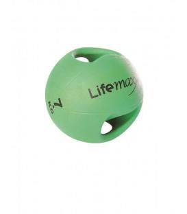 LMX1250.7 VERDE 7kg - PALLA MEDICA CON MANIGLIE